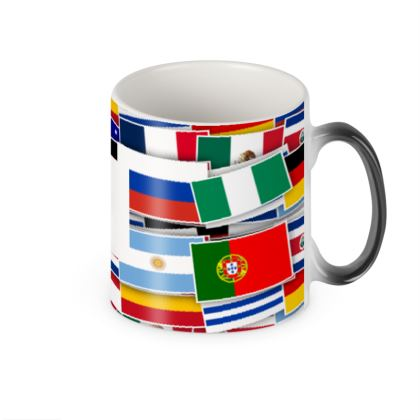 World Cup Heat Changing Mug