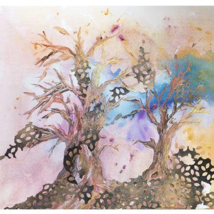Forest LIght Cushion