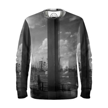 "Sweatshirt ""Fliegender Hamburger II"""