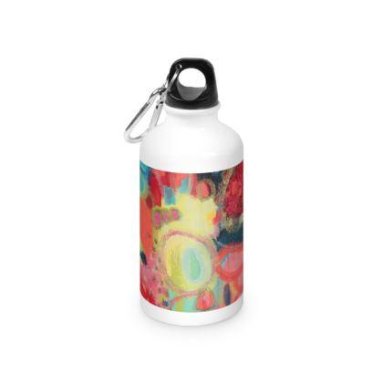 HOP Designer Water Bottle by Rachel Rosa ART