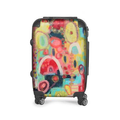 Hop Designer Suitcase by Rachel Rosa