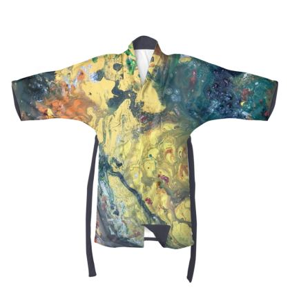 Autumn Waltz Kimono