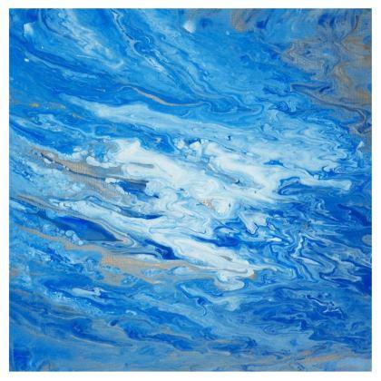 Sea Foam Kimono