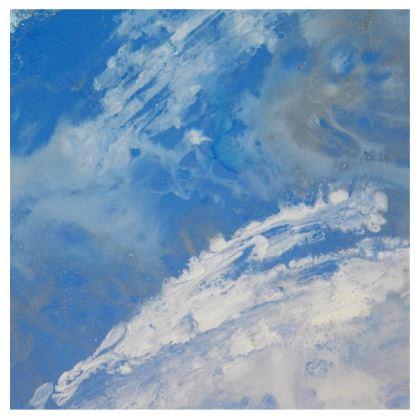 Whitecaps Kimono