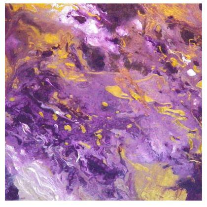 Violaceous Phoenix Kimono
