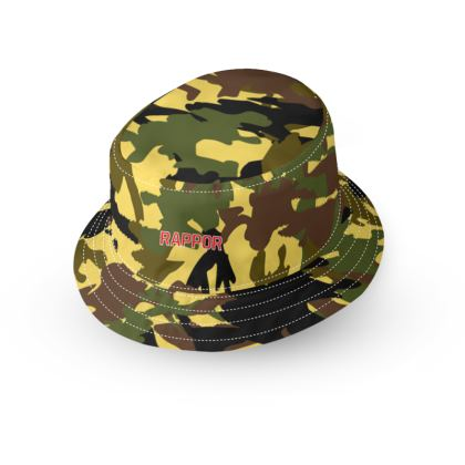 Designer Red Desert Camo Bucket Hat