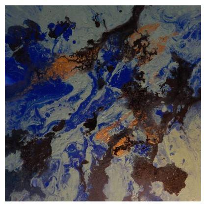 Coral Ocean Chair