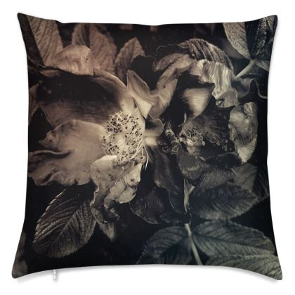 Silver rose Cushion Covers