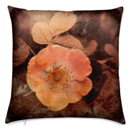 Orange rose cushion Covers