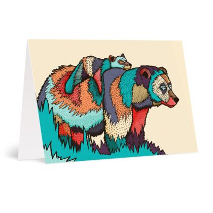 Occasions Cards - The lazy bear