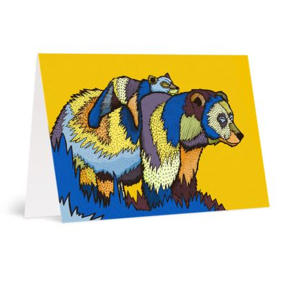 Occasions Cards - The lazy bear 2
