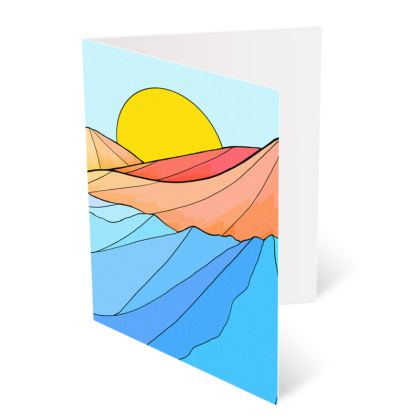 Occasions Cards - The sea and the beach