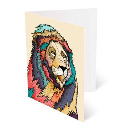 Occasions Cards - The regal Lion