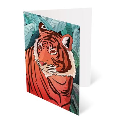 Occasions Cards -  Tiger in the jungle