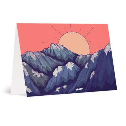 Occasions Cards - An early morning view