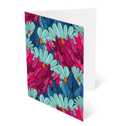 Occasions Cards - Flower and the leaves