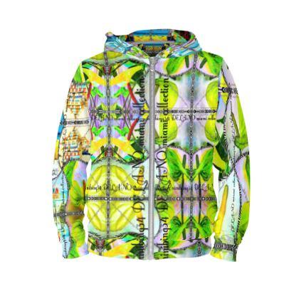 ninibing34 MIAMI DELANO style HOODIE size S #ninibing34 #hoodie