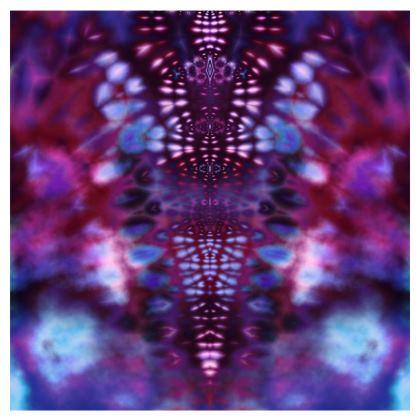 Occasional Chair - Dark Magenta Fractal V Tie Dye