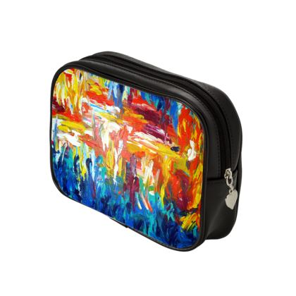 The energy of Fire and Water Make Up Bag