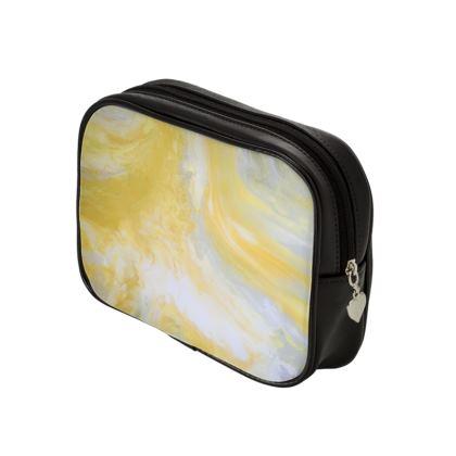 Mellow-Yellow Make Up Bags