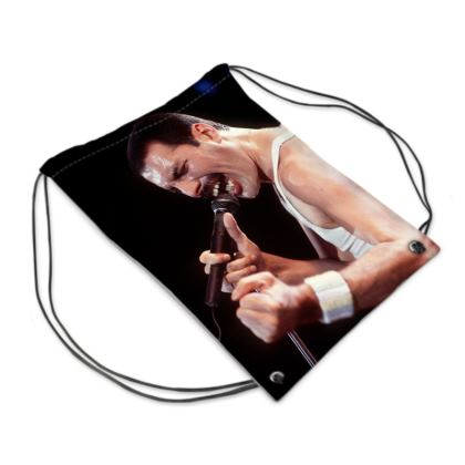 Freddie Mercury Pride 20018 Drawstring PE Bag