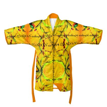 €188,00 Kimono ORCHID YELLOW ninibing34 size 2 XL
