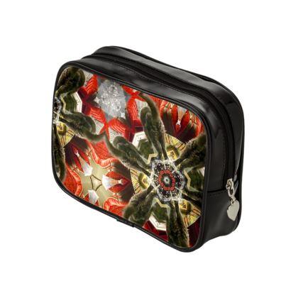 Kaleidoscope Kitty Make Up Bag