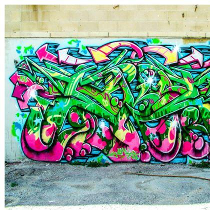 Graffiti Cushion deux