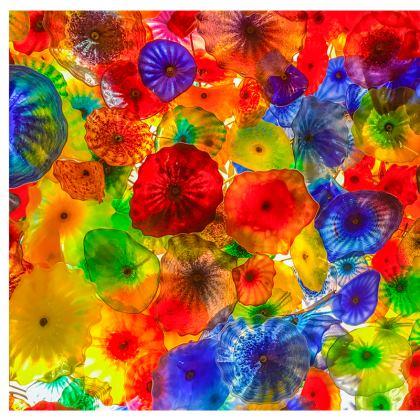 Chihuly Glass Cushion