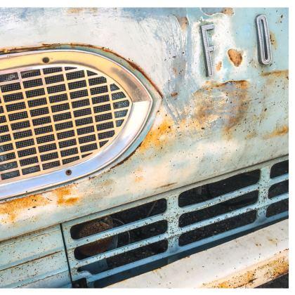 Vintage Ford Van Cushion