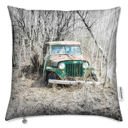 Classic and Vintage Jeep Cushion