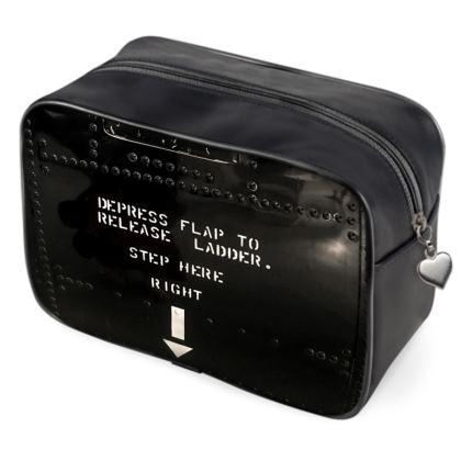 Black Metal Air Plane Panel Bag