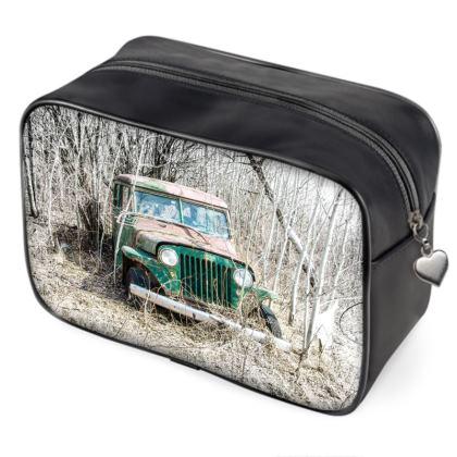 Vintage Jeep Bag