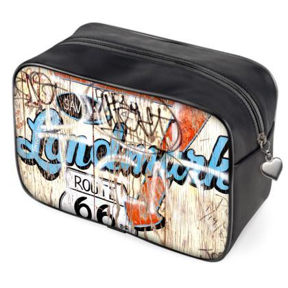 Route 66 Graffiti Sign Bag