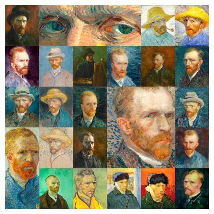 Portraits of Vincent Cushion