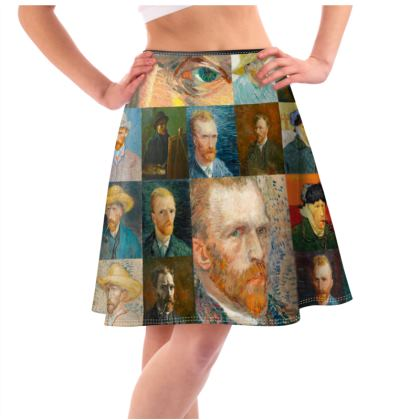 Portraits of Vincent Flared Skirt