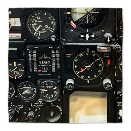 Aviation Instrument Panel Napkins