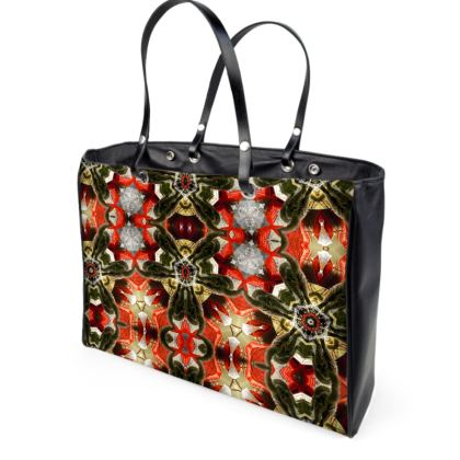 Cat Butt Kaleidoscope Handbag