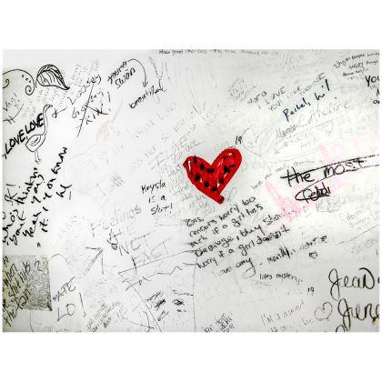Bathroom Graffiti Handbag