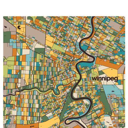 Winnipeg Map Handbags