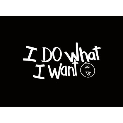 I do what I want Handbags