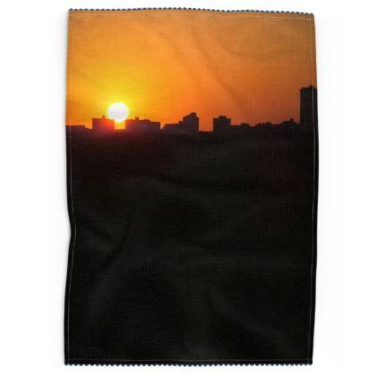 Sunrise Tea Towels