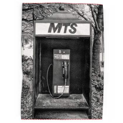 Vintage MTS Pay Phone Tea Towels