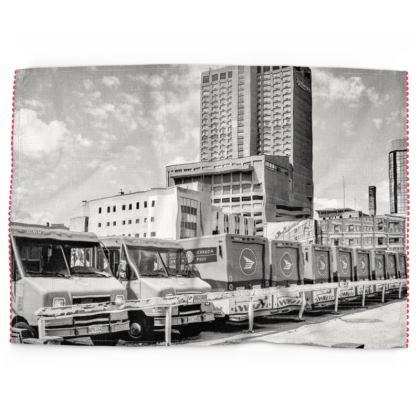 Downtown Winnipeg Tea Towels