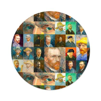 Portraits of Vincent Serving Platter