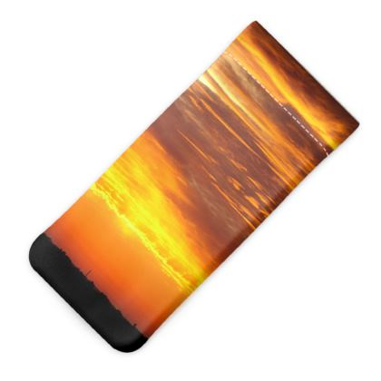 Sunset Glasses Case Pouch