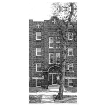 The Willingdon Building Glasses Case Pouch