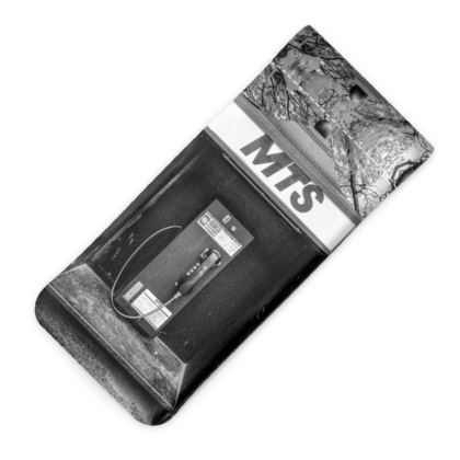 Vintage MTS Pay Phone Glasses Case Pouch