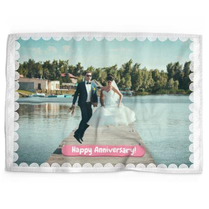 Happy Anniversary Wedding Photo Design
