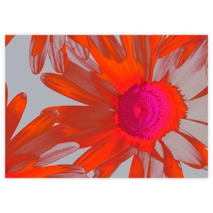 Wild Daisy Fabric Sample Test Print